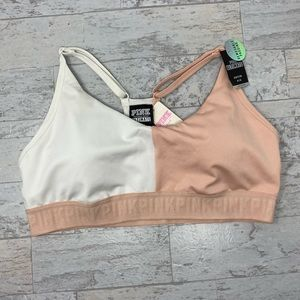 NWT VS PINK Ultimate Lightly Lined Sports Bra